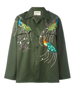 Night Market | Peacock Military Jacket