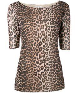 Ganni | Peirce Leopard Print Top Women
