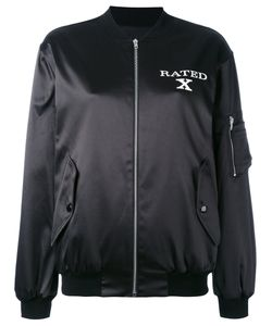 Jeremy Scott   X Rated Bomber Jacket Cotton/Polyester/Other
