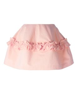 Simone Rocha X J Brand | A-Line Frill Detail Skirt