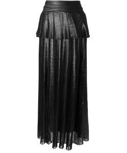 Ohne Titel | Long Fine Pleated Skirt
