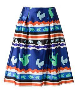 Novis | Digital Print A-Line Skirt