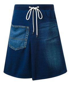 Mihara Yasuhiro | Drawstring Denim Skirt