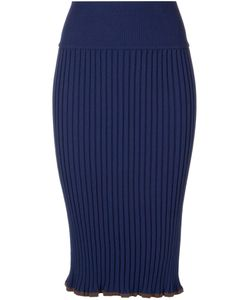Akane Utsunomiya | Ribbed Pencil Skirt