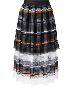 Natargeorgiou | Woven Stripe Skirt