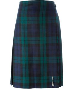 Le Kilt | Checked Pleated Midi Skirt