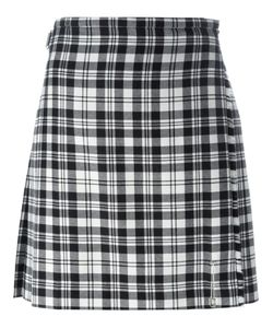 Le Kilt | Pleated Checked Skirt