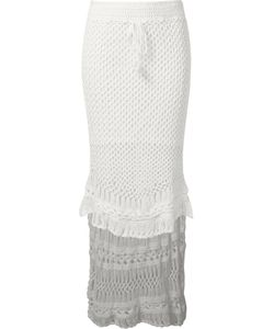Skinbiquini | Hi-Low Crochet Skirt
