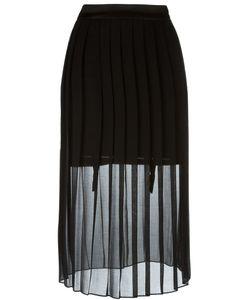 Murmur | Sheer Pleated Skirt