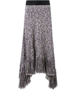 Akane Utsunomiya | Asymmetric Knit Skirt