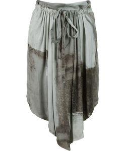 Uma | Asymmetric Hem A-Line Skirt