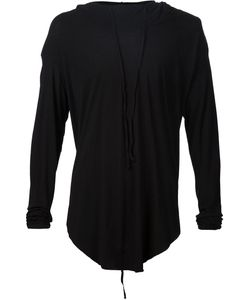 Lost And Found   Raw Hem Hoodie