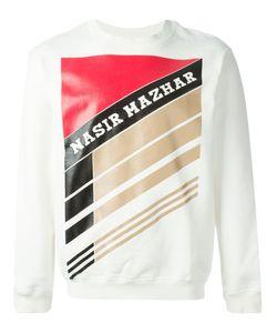 Nasir Mazhar | Graphic Logo Print Sweatshirt