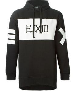 Ejxiii   Logo Printed Oversized Hoodie