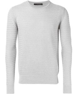 Jeordie's | Textured Knit Crew Neck Sweater