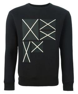 Cy Choi   Contrast Patch Sweatshirt