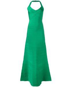 Hervé Léger | Ribbed Maxi Dress Small