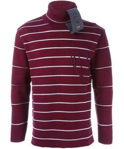 Klar | Striped Roll Neck Sweater