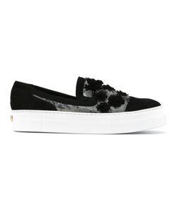 Elie Saab | Embellished Slip-On Sneakers Size 38