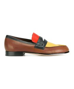 Paul Smith London | Block Panel Loafers Size 11 Calf
