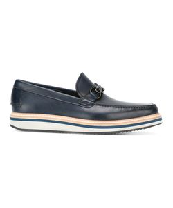 Salvatore Ferragamo | Gancio Bit Boat Shoes 6.5 Calf
