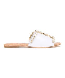 Oscar de la Renta | Scarlette Sandals Size 39 Calf
