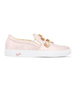 L'Autre Chose | Embellished Slip-On Sneakers