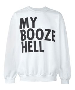 House Of Voltaire | Jeremy Deller My Booze Hell Sweatshirt
