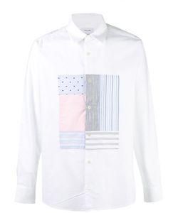 Soulland   Patchwork Panel Shirt S