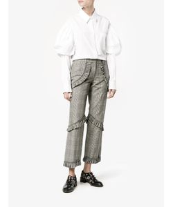 Simone Rocha | Prince Of Wales Checked Trousers Size 4