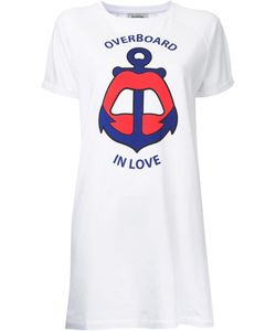 Yazbukey | Overboard In Love T-Shirt Dress Small Cotton/Spandex/Elastane