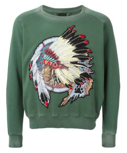 +People | Native American Patch Sweatshirt
