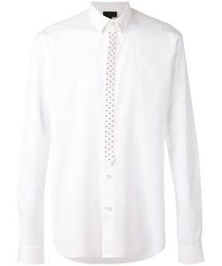 Les Hommes | Studded Placket Shirt