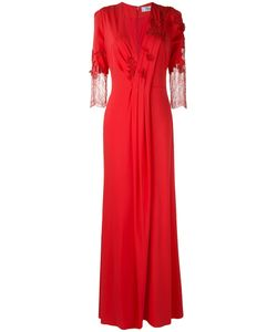 Blumarine | Lace Detail Long Gown