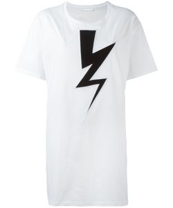 Neil Barrett | Lightning Bolt Oversized T-Shirt Size Medium