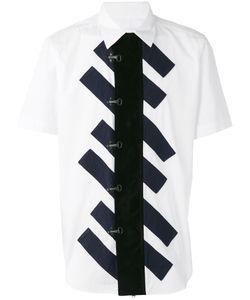 Ganryu Comme Des Garcons | Striped Centre Shirt Size Medium