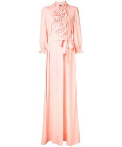 Boutique Moschino | Ruffled Trim Long Dress