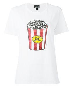 Just Cavalli | Popcorn Print T-Shirt Size Xs