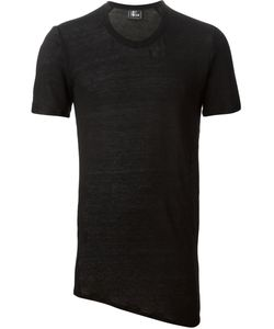 Lost And Found   Asymmetric Long Line T-Shirt
