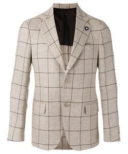 Lardini   Checked Blazer Size 56