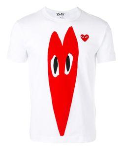 Comme Des Garçons Play | Heart Print T-Shirt