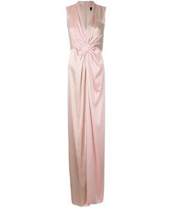 Paule Ka | Contrast Woven Column Dress