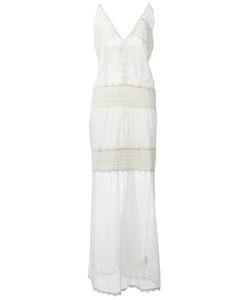 Just Cavalli | Long Layered Lace Dress Size 42