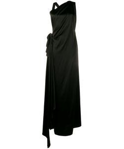 Osman | Sleeveless Side Slit Dress
