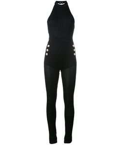 Balmain | Ribbed Knit Jumpsuit Size 38