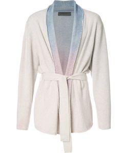 The Elder Statesman | Rainbow Gradient Belted Cardigan Adult Unisex Medium