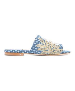 Laurence Dacade   Embroidered Sandals 36