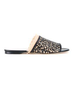 Oscar de la Renta | Charli Sandals Size 39 Calf