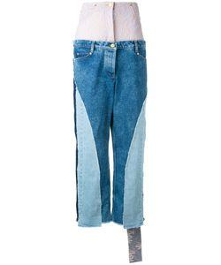 Natasha Zinko | Multi-Patterned High Rise Jeans