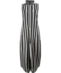Pleats Please By Issey Miyake | High Neck Striped Jumpsuit Size